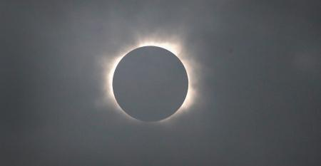 Solar eclipse visible across swath of U.S.