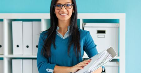 woman office manager