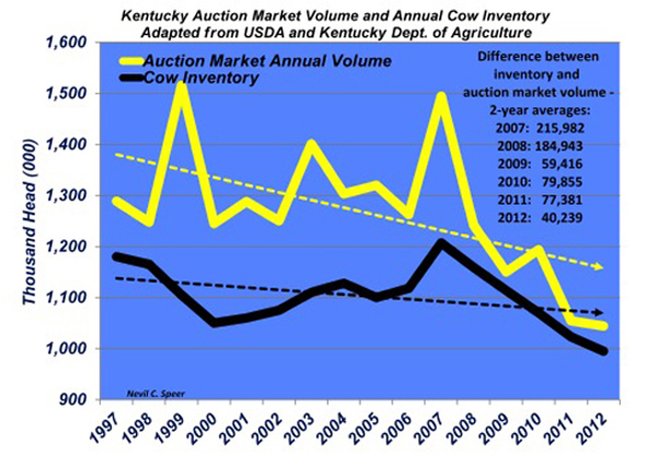 kentucky auction market numbers