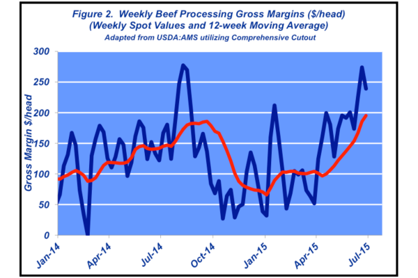 weekly beef processing