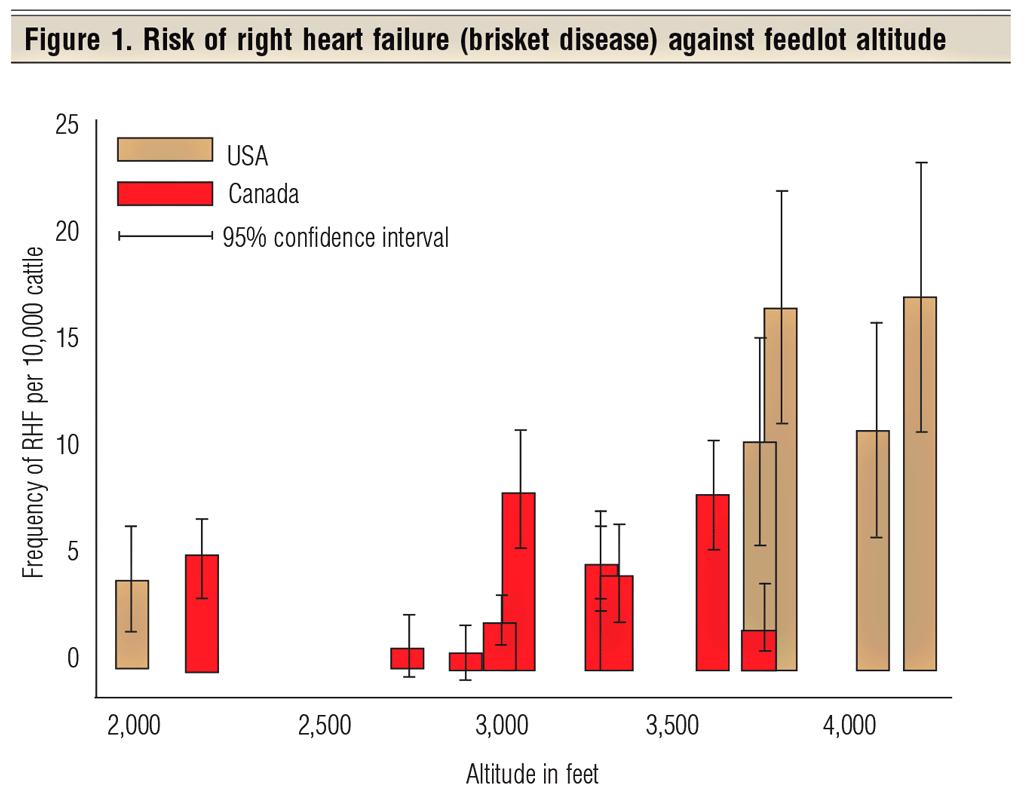BFM_p62 Animal Health Fig1 high altitude disease (brisket disease) in cattle hits the low