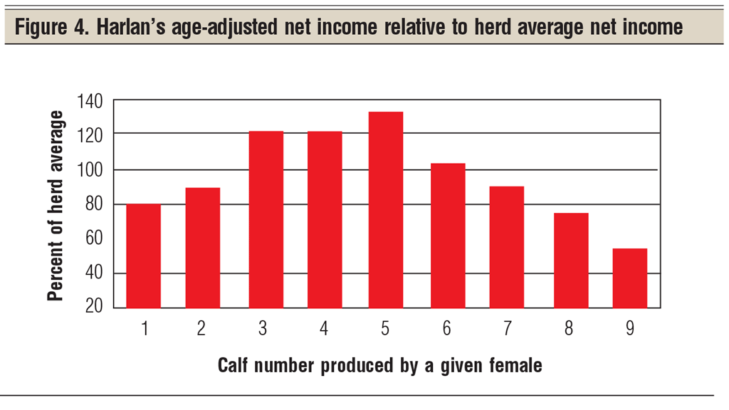 Harlan's adjusted net income