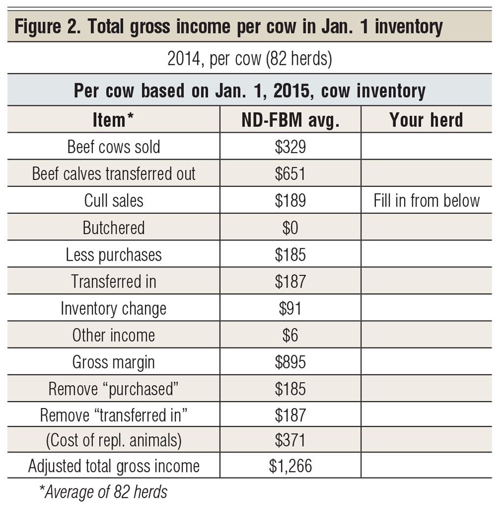 total gross income