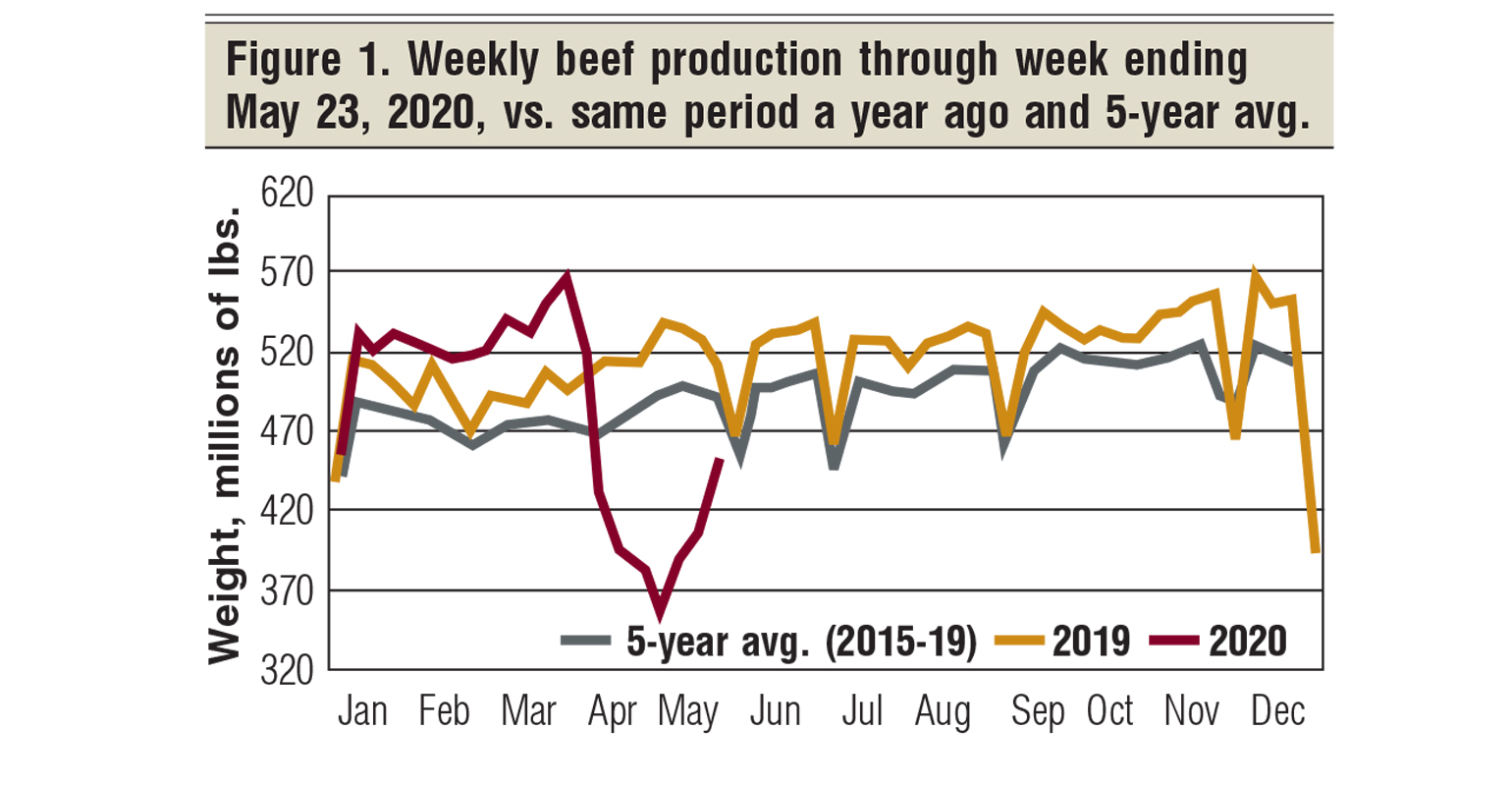July 2020 Beef production